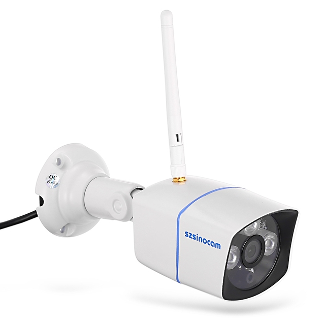 US $47 06 |Szsinocam HD 720P Wifi IP Camera 1 0MP Waterproof Outdoor  Wireless Network Camera P2P Bullet Infrared Security Camera 3015FSW10-in