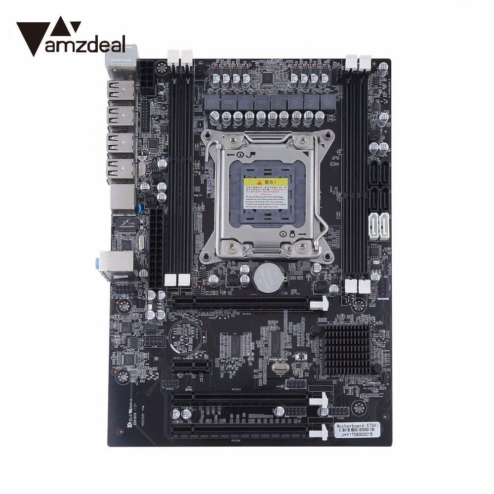 AMZDEAL High Speed X79 Motherboard Extender Riser Board Extensor Board Professional LGA 2011 Desktop Server for Intel E5 I7