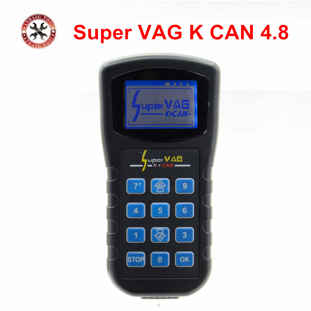 Prix pour 2017 Vente Chaude Super Vag K + Can v4.8 commandant Super VAG K + CAN 4.8 Odomètre correction multi-langue Super VAG K + CAN 4.8