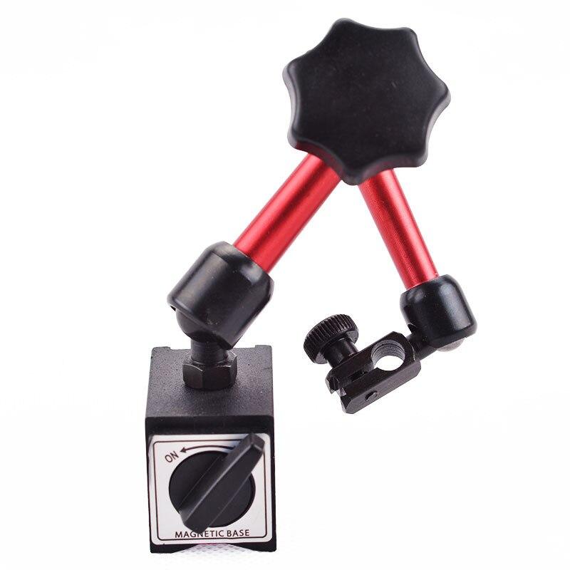 Mini Universal Flexible Magnetic AUF/OFF Basis Faltbare Halter Stehen Für Digtal & Analog Test Anzeige Werkzeug