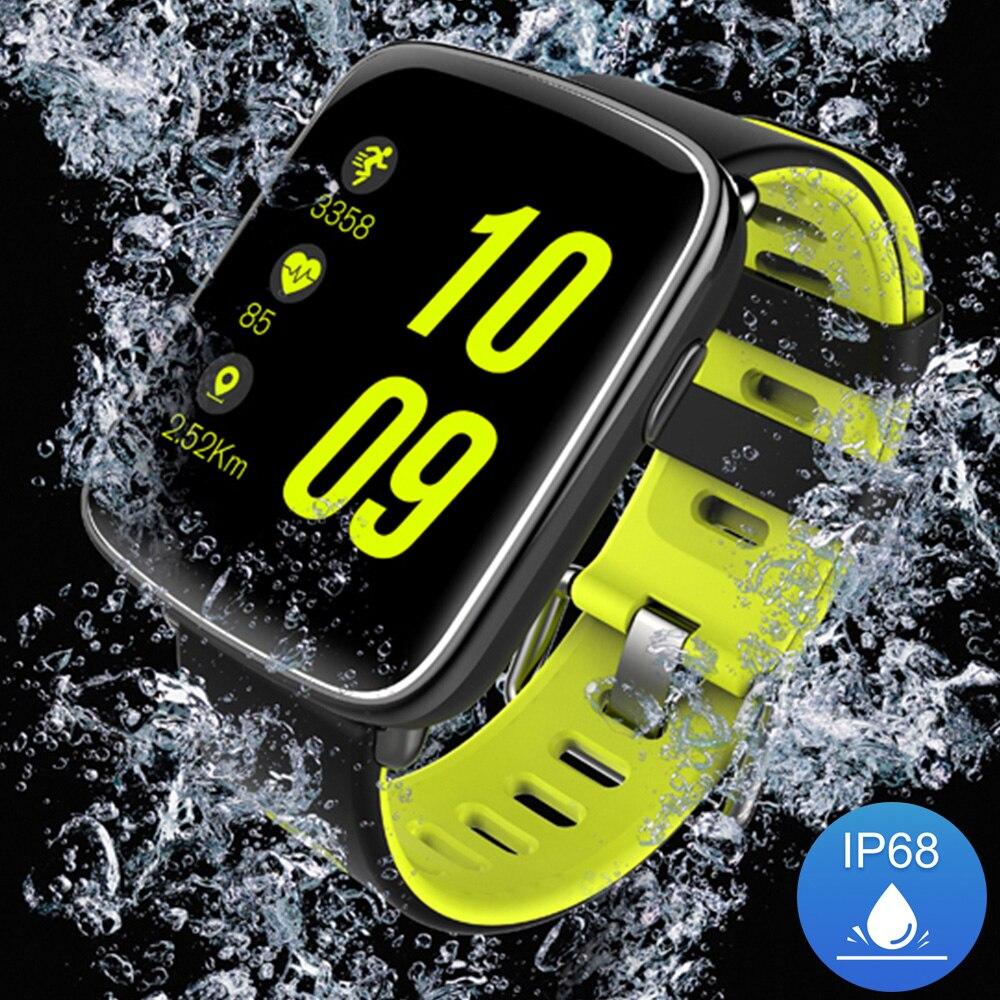 imágenes para Kingwear GV68 Reloj Inteligente IP68 a prueba de agua Natación Apoyo Bluetooth Reloj Smartwatch Podómetro Del Ritmo Cardíaco para Android iOS Teléfono