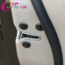 Car Door Lock Screw Protection Stickers Covers Waterproof Doors Screws for Ford Focus 2 3 4 Fiesta Ecosport Everest Ranger Kuga
