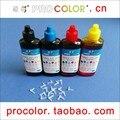 Procolor mejor calidad fotográfica CISS recarga de tinta cartucho de tinta UV resistente tinta universal para Epson de inyección de tinta impresora