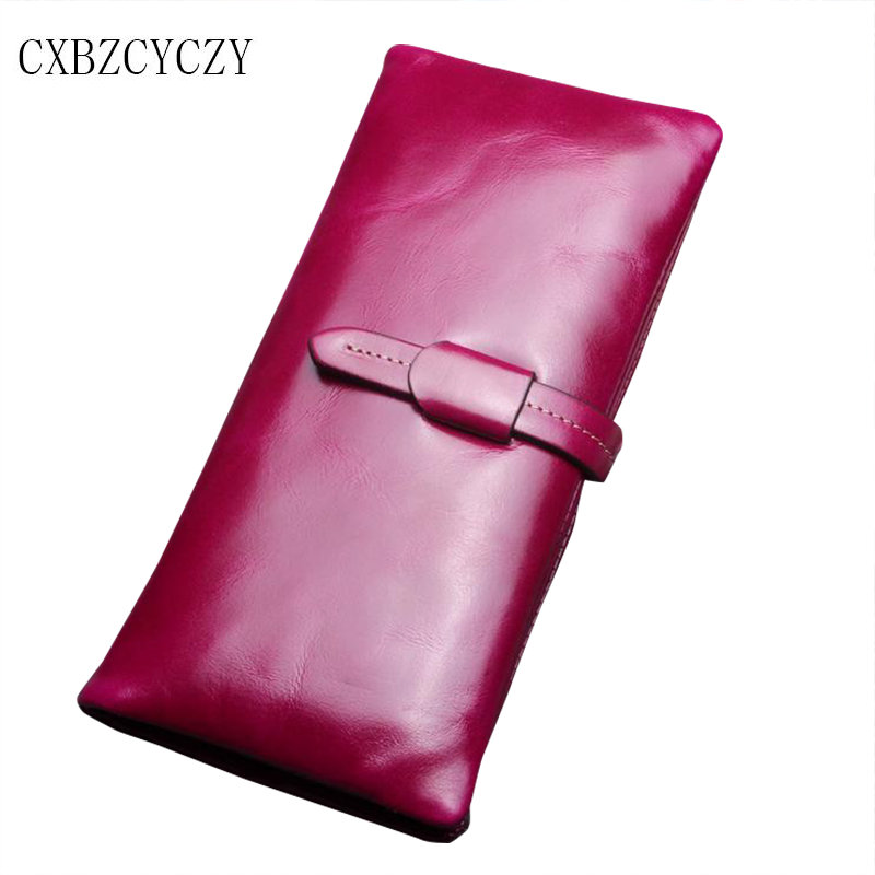 New high quality brand famous designer genuine leather women Retro long Soft wallets woman wallet Cowhide Clutch bag Carteira high quality iron wire frame sun glasses women retro vintage 51mm round sn2180 men women brand designer lunettes oculos de sol