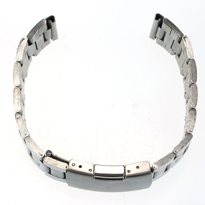 Kimisohand Quality Stainless Steel Watch Band Strap Straight End Bracelet Links 2018 On Sale new high quality 18mm 20mm 22mm women men stainless steel bracelet watch band strap straight end solid links watch accessories