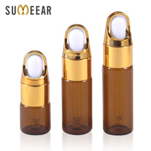 20 Piece/Lot 5ml 10ml 15ml 20ml Essential Oil Bottles Portable Amber Glass Eye Dropper Bottle Empty Cosmetic Containers clinique 5ml 15ml