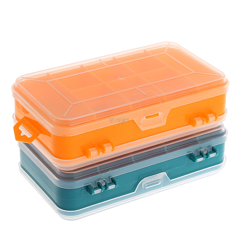 Tool Box Transparent Double-Side Multifunctional Storage Tool Case Plastic Case A11 Dropshipping