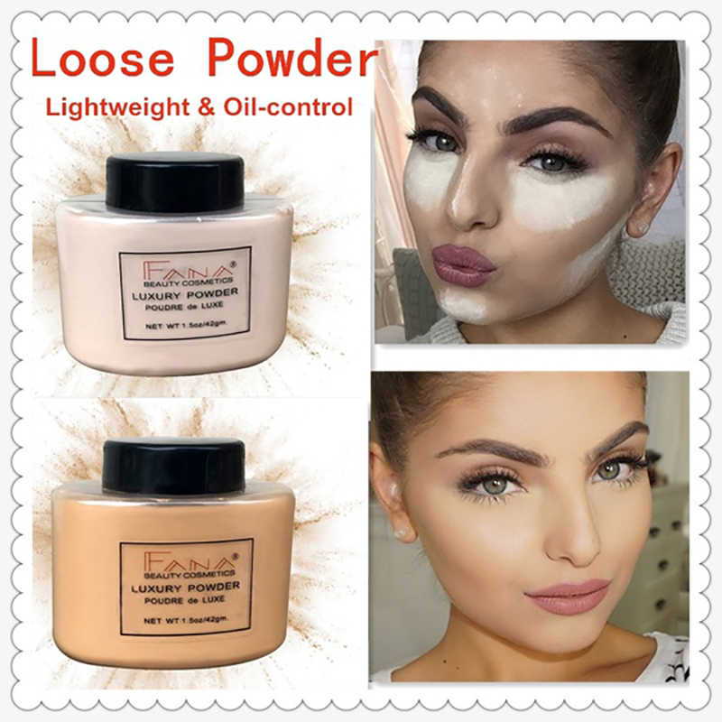 New 2019 Smooth High Lighting Loose Oil Control Face Makeup Beaut Contouring Powder Long Lasting  Luxury Banana Powder Essential