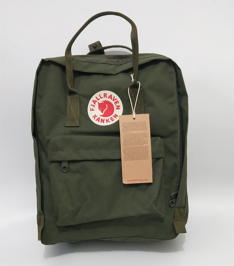 Kanken Backpack Mochila Escolar Women Travel Masculina Laptop Leather Undertale Bag School Bag Girl Students Mochilas
