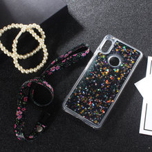 Huawei Y6 2019 Case Glitter Silicone Cases Y6 Pro 2019 Soft TPU Back Funny Liquid Phone Cover For Huawei Y6 Prime Pro 2019 Case for huawei y6 2019 case silicone soft tpu back cover fundas y6 prime 2019 matte phone bumper case for huawei y6 prime 2019 6 09