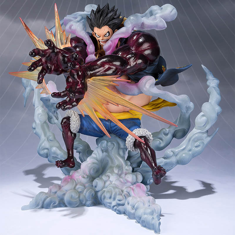 One Piece Pop Gear Fourth Luffy Action Figure 1/8 Scale Painted Figure Fighting Ver Monkey D Luffy Pvc Figure Toy Brinquedos Finely Processed Toys & Hobbies