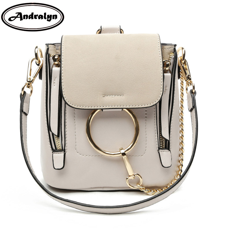 Andralyn ring metal mini women backpack PU leather for female young girl preppy style female girls school bags ladies backpack preppy style women backpack letter print mini pu leather backpack schoolbags for teenage girls female backpack rucksack mochilas