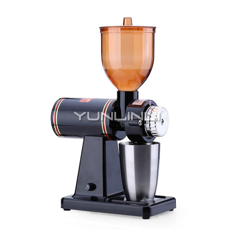 Commercial Electric Coffee Grinder 220V Coffee Bean Grinding Machine Electric Coffee Bean Grinder with Stainless Steel Cup 689|Electric Coffee Grinders| |  -