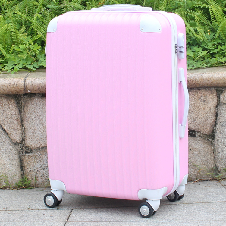 20,24,28 Inches,Women Travel Suitcases,Luggage Bag,ABS Luggage,Rolling Luggage,luggage strap lock fashion luggage