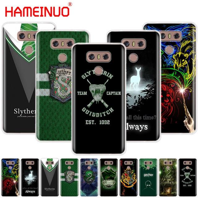 1569db483b875 HAMEINUO Harry Potter Slytherin School Crest case phone cover for LG G7 Q6  G6 MINI G5 K10 K4 K8 2017 2016 X POWER 2 V20 V30 2018