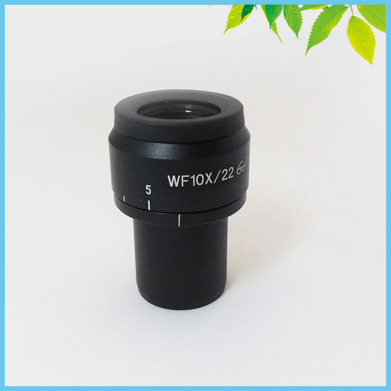 ФОТО 1 PC W10X/22mm Adjustable Stereo Microscope Wide Angle High Eye Point Eyepiece with Interface 30mm
