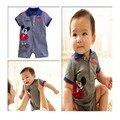 Novo estilo de moda de verão bebê recém-nascido infantil bodysuits macacões roupas roupas rato dos desenhos animados das crianças para meninos