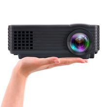 Digital Video TV Projector 1080P lcd LED 3D Full HD Home Computer 800 Lumens build-in speaker 360 Degree Beamer For Movie Game