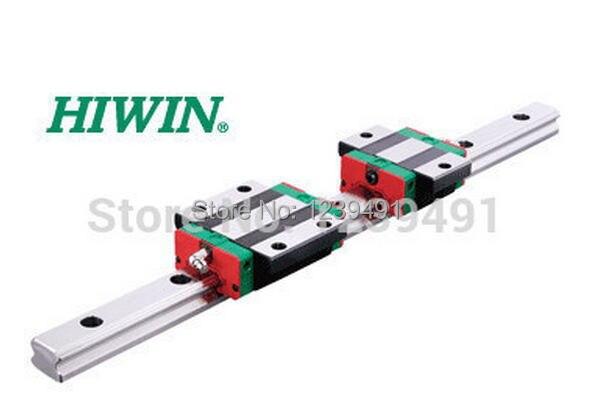 2pcs original Hiwin linear rails HGR15 -1200 + 4x HGW15CA flange block + 1set SFU1610 -1200mm +  1set SFU2010-1500mm ballscrew
