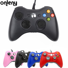 Wired Gamepad Android Game pad For PC Microsoft Xbox 360 Joypad  for Xbox Slim Smart TV Box colorful Joystick gaming Controller