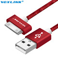 VOXLINK Original 30 Pin USB Cable for iPhone 4 4S Charger Cable Sync data Charging Cable for iPad 2 3