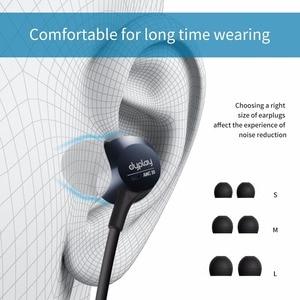 Image 3 - פעיל רעש מבטל אוזניות אלחוטי Neckband אוזניות Bluetooth ב אוזן קל משקל עמיד למים אוזניות באינטרנט כנס