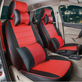 Full set seat cover for lexus lx570/lx470 accessories car covers custom fit pu leather car seat covers black car seat cushion