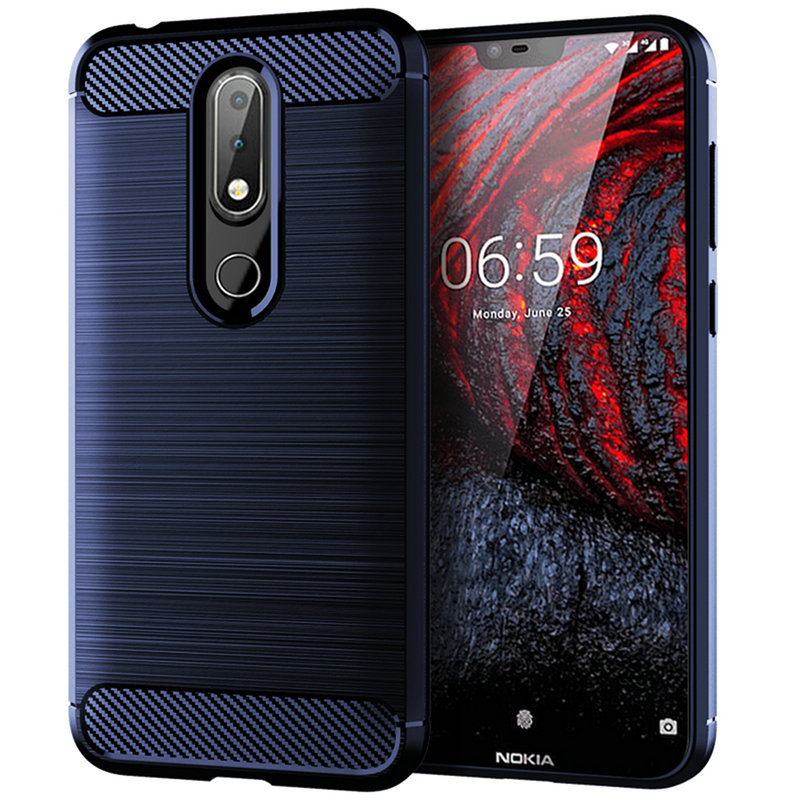 For Nokia 6.1 Plus WIERSS Armor Case cover for Nokia 6.1 Plus for Nokia X6 for Nokia 6.1 Shockproof phone Back cover Case