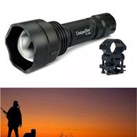 UniqueFire Tactical Infrared Flashligh UF 1505 Osram IR940nm LED Night Vision Hunting 18650 Flashlight Torch+QQ07 Scope Mount