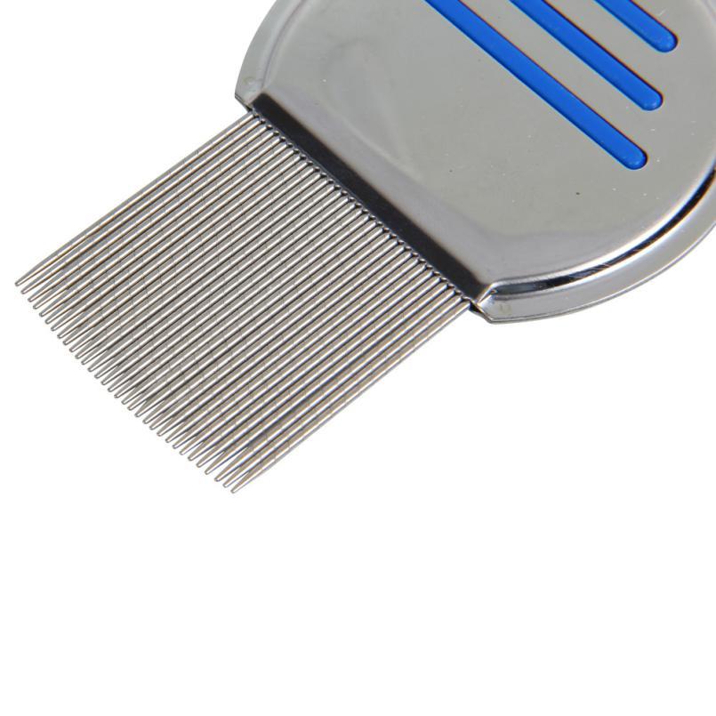 Rambut Combs Terminator Kutu Serbuk Menanggalkan Headlice Logam tahan - Penjagaan rambut dan penggayaan - Foto 6