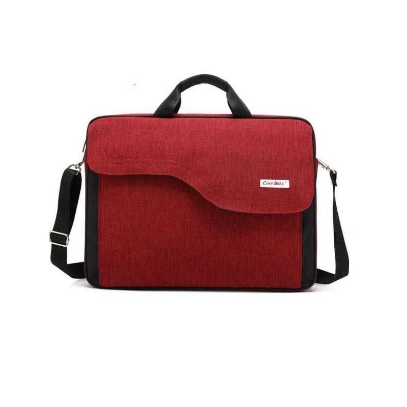 ФОТО 2016 Hot Selling 15.6 17.3 inch Notebook Computer Bag Shockproof Men Women Handbag Laptop Messenger Bag