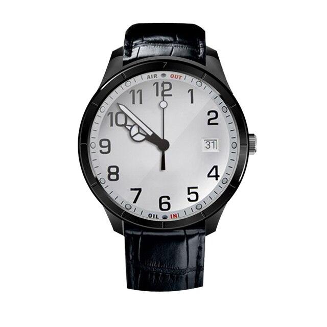 Finow Q3 Smart Watch PK KW88 DM368 I3 1.4 Дюймов AMOLED Android 4.4 Шагомер Сердечного Ритма Трекер 3 Г Wi-Fi Для Android iOS Phone7