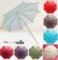 Sol Guarda-chuva para Carrinho De Bebê Portátil Dobrável Removível Sombrinha para Pram Pushchair Parasol para Infantil de Proteção Solar À Prova de UV-
