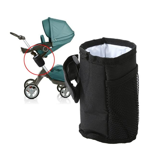 Baby Pram Stroller Accessories Waterproof Stroller Insulated Cup Holder Bottle Holder Convenient Drink Holder