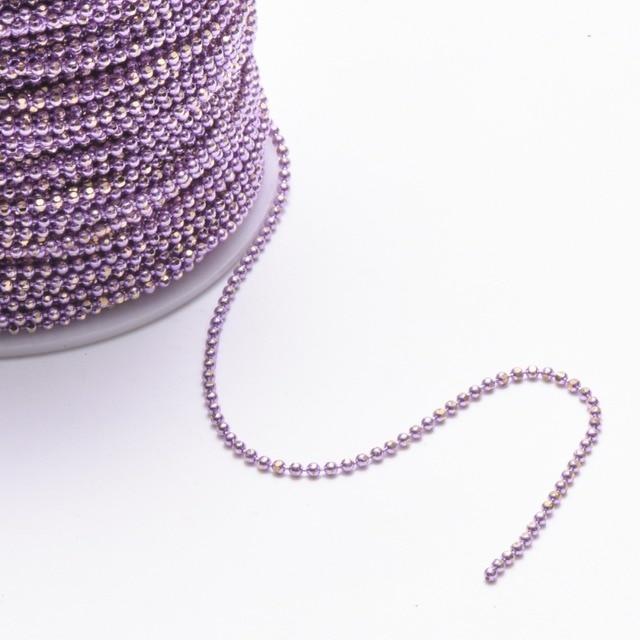 GUFEATHER C31,DIY Bead Chain, Bracelet Anklet Necklace 2