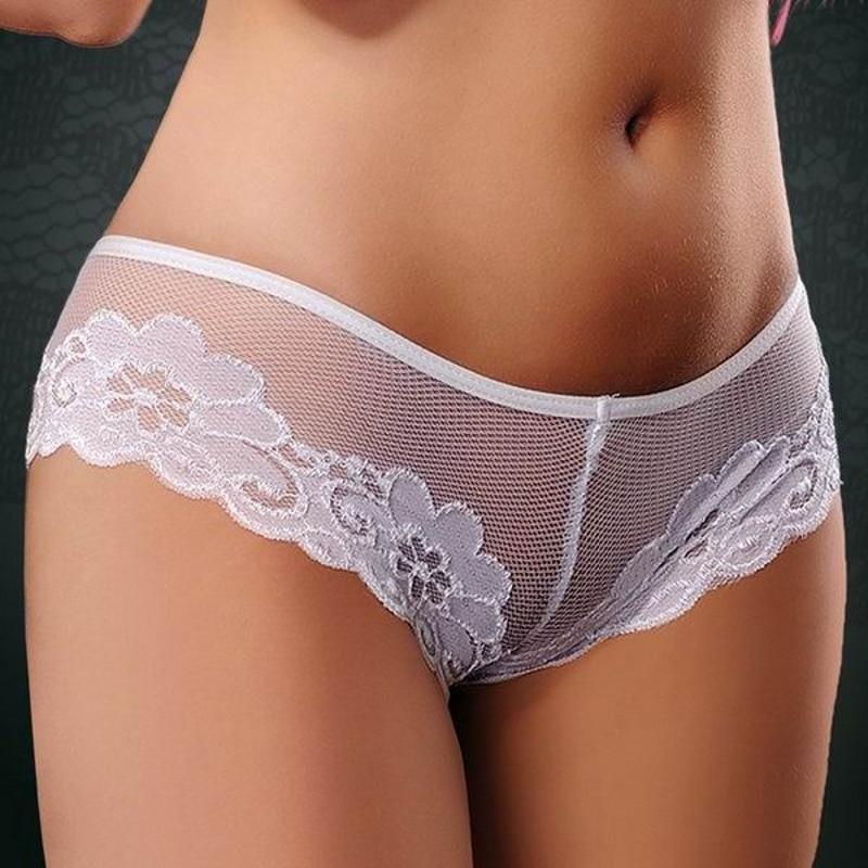 women in white panties