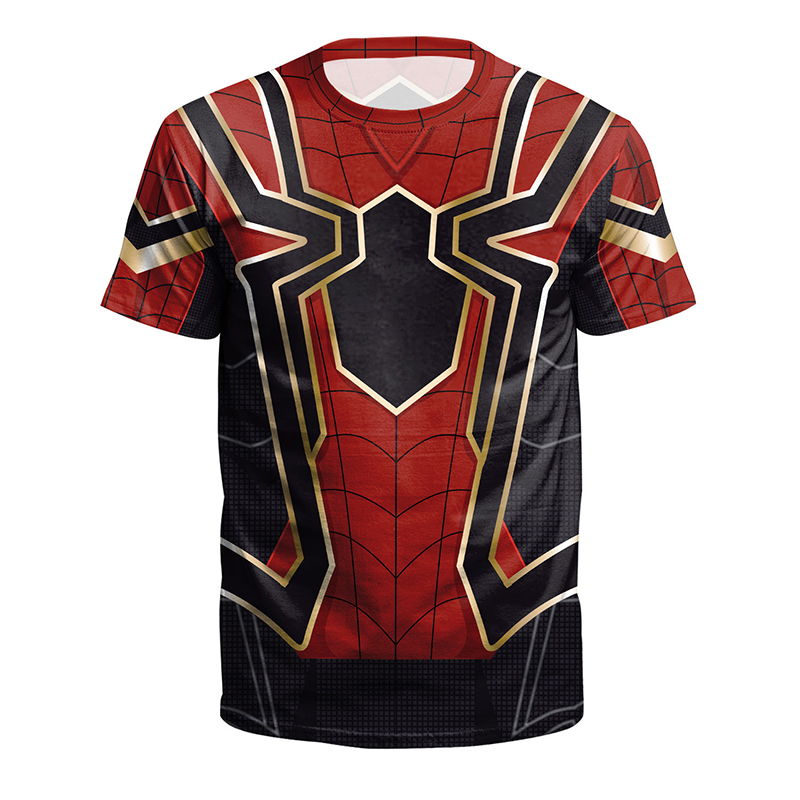 Fashion New Men Women Avengers Spiderman 3d Tshirts Funny DC Marvel Character T shirt Summer Men Avengers Superhero T-shirts