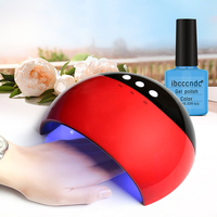Pro LED Lamp For Nails 24W Nail Dryer UV Lamp Gel Polish Curing Lamp For Manicure