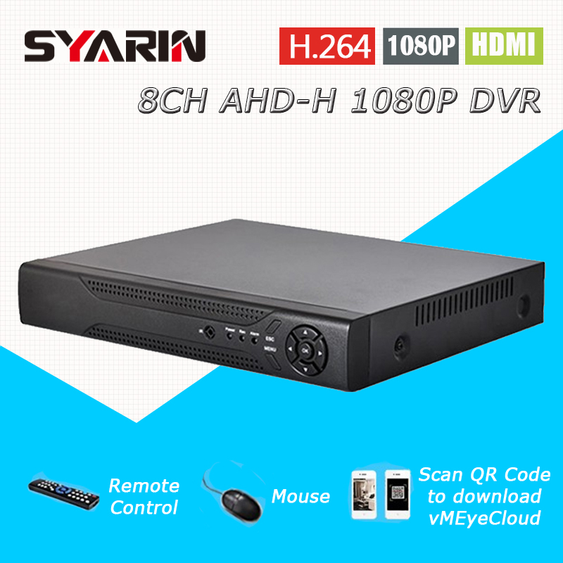 8ch CCTV System AHD 1080P surveillance DVR NVR 8 channel AHD-H HDMI Standalone security WIFI video recorder T-G08D10PB08 2017 cctv 8ch 720p dvr h 264 recorder ahd 8 channel cctv dvr 8 ch 720p network video recorder surveillance security dvr 3g wifi