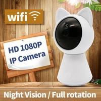 Mini 1080p HD Ip Wifi Camera CCTV Wi Fi Security Wireless 360 Home Camera Night Vision