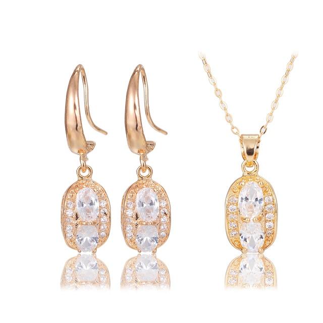 2015 Dubai Italian Designers Jewelry Sets Woman Jevelri Zircon