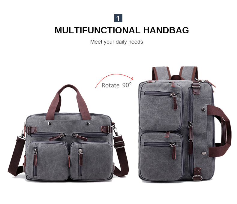 HTB1AperaJzvK1RkSnfoq6zMwVXaS Men Canvas Briefcase Business Laptop Handbag Large Messenger Shoulder Bag Big Casual Male Tote Back Bags Travel Suitcase XA162ZC