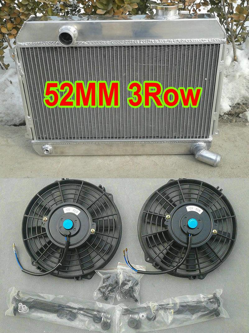 New 3 ROW Aluminum RADIATOR:1966-1970 Datsun 1600 Roadster Fairlady 67 68 69 70