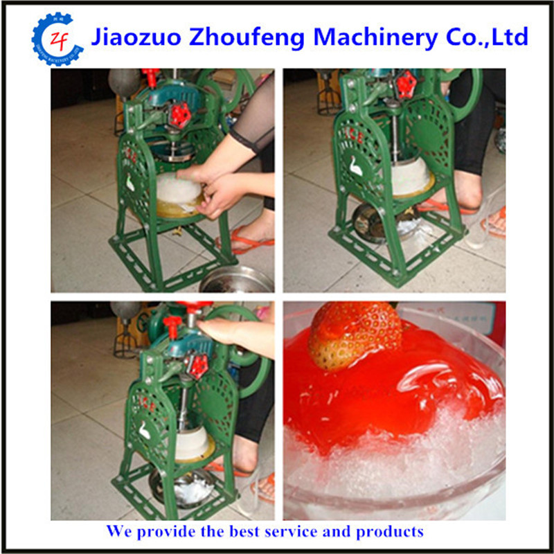 Ice shaver machine home use manual shaved ice machine ZF hand driven ice crusher commercial and home use crushed ice machine zf