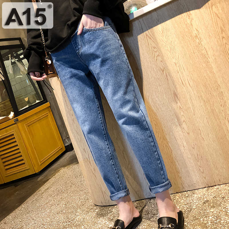 Mutterschaft Hosen für Schwangere Frauen Kleidung Schwangerschaft Jeans Hosen für Plus Größe Einstellbar Taille Denim Bauch Jean Hosen Herbst