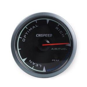 """Image 3 - CNSPEED Medidor de relación de combustible y aire para coche, 7 colores, 2,5 """", 60mm, con soporte LED"""