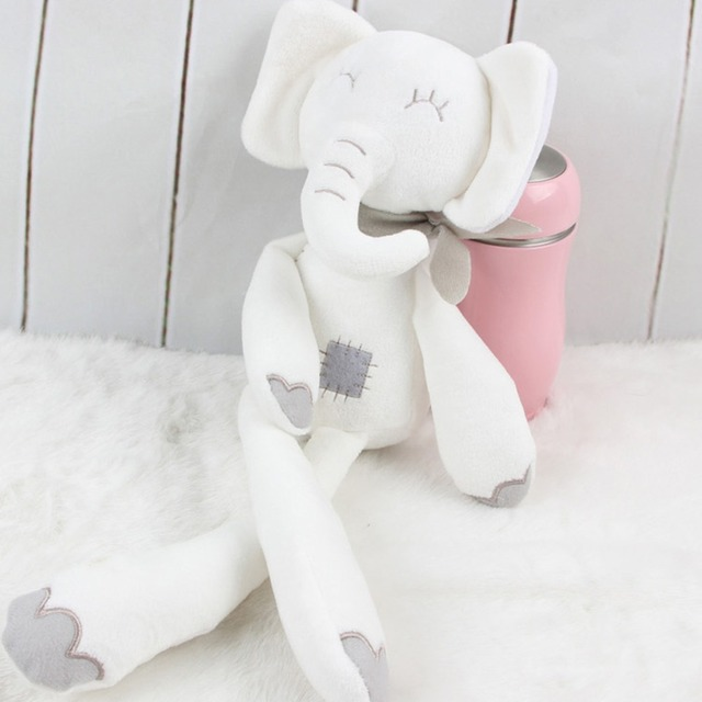 Hot Sales Baby Plush Toys Girls Boys Cartoon Rabbit Elephant Dolls