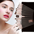 Fashion 20pcs Makeup Brushes Kit Set Face Powder Foundation Eyeshadow Eyeliner Lip Brushes Cosmetic Tools Set with Bag