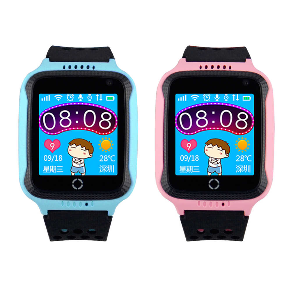 GW500S/Q528 GPS Smart Watch with Camera Flashlight Baby Watch SOS Call Location Device GPS Tracker locator for Kid Childen Safe