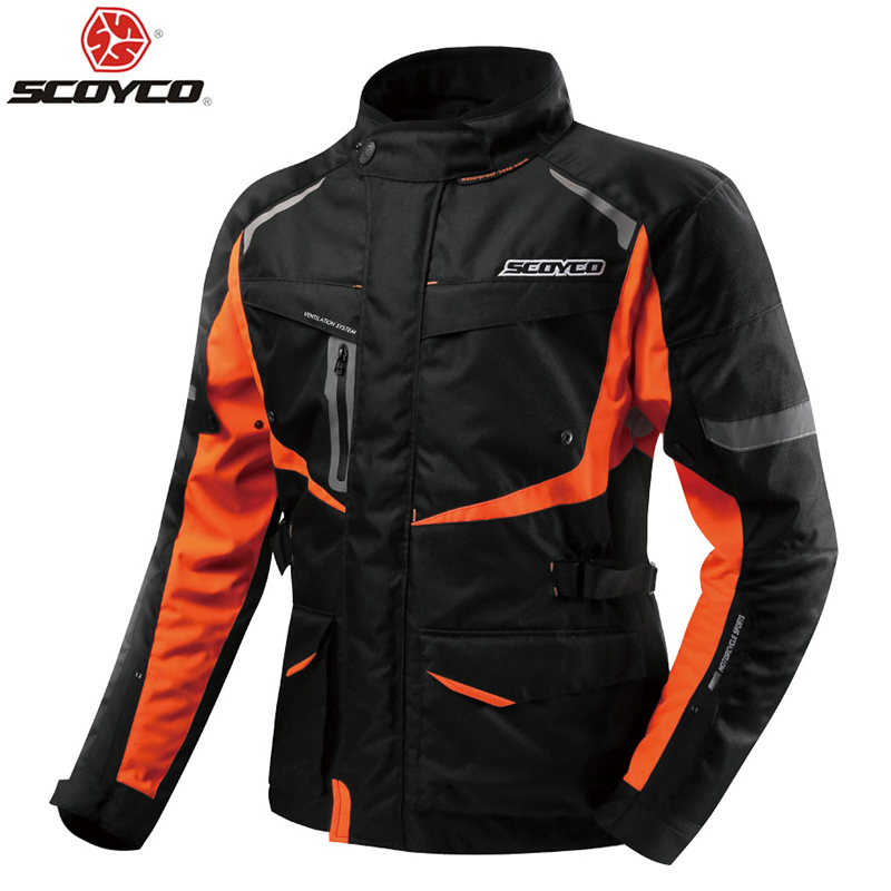 Scoyco JK42 Men s Motorcycle Motocross waterproof Jacket Protective Gear Off Road Clothing Protector Sportswear keep